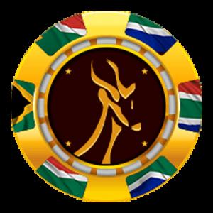 Springbok Casino Logo Coin